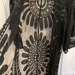 Urban Outfitters Other - Urban Outfitters Lace Duster